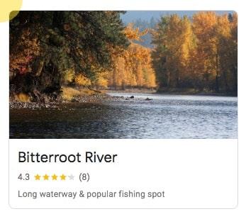 Bitterroot River in Missoula