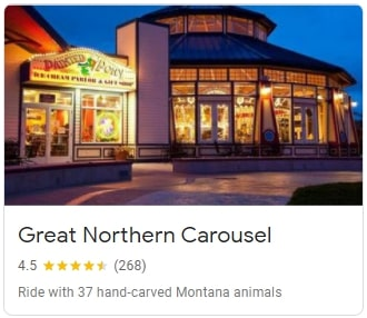 Great Northern Carousel in Helena