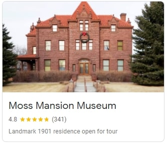 Moss Mansion Musuem in Billings
