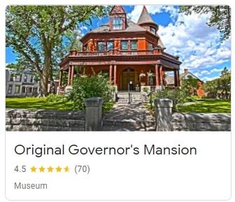 Original Governor's Mansion in Helena