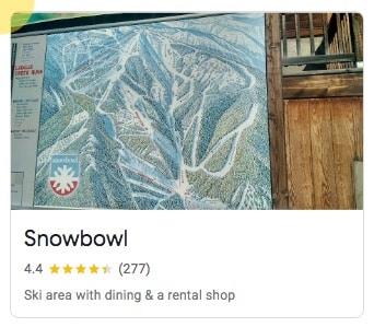 Snowbowl in Missoula